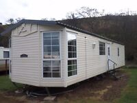 2003 Carnaby Roxburgh static caravan for sale at Chesterfield Country Park in Berwickshire