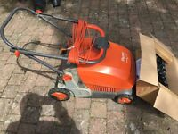 Lawn ross remover, scarifier with free cassette Flymo