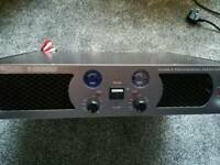 1000w amp & 2 x 300w speakers + cables