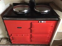 Aga - red oil fired
