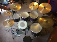 Mapex Pro M Series Drum kit & Extras