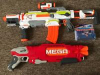 2 Nerf Guns&Extra Bullets