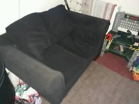 Black 2 seta sofa