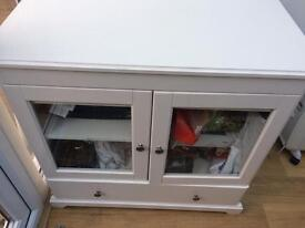 Ikea liatorp white small sideboard or tv unit