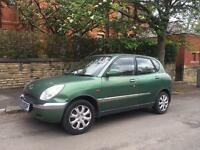 Daihatsu Sirion 1.0 Automatic 5 Door Very low Millage 39k Only 12 Months Mot