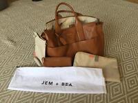 Jem + Bea Jemima Tan changing bag