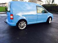 VW Caddy 1.9 DIESEL Full P S V, Alloys, Tow Bar, Brilliant we van