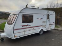 Immaculate Condition Coachman Amara  450/2  two berth caravan with full end washroom.