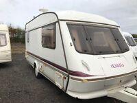 Elddis GTX 2/berth 1995 16ft end £1000