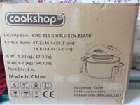 Brand new Black COOKSHOP KHC8161 Halogen oven