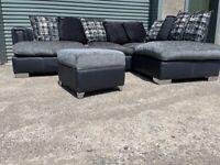 Grey dfs corner sofa, couch, suite, furniture 🚚🚛🚚🚛🚚
