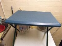 Small folding camping table