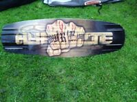 Hyperlite Wakeboard: 142.3 MURRAY. BAG + BINDINGS INC. Make me an offer!