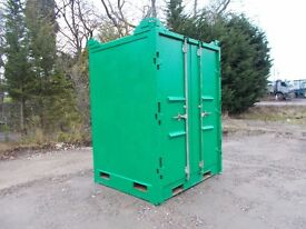 6X6 8FT HIGH STORAGE CONTAINERS ALL IN GOOD CONDITION