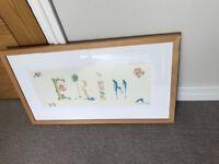 Erin framed print
