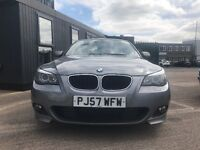 BMW 5 series - LCI - facelift - Msport - NO DPF - automatic - Sat nav -leathers