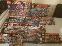 Lego Sets BUNDLE! Star Wars and SuperHeroes!!