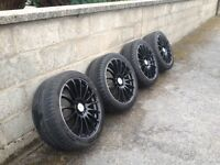 Mercedes 19 inch AMG style alloy wheels and tyres