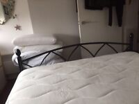 Double bed With rest assured luxury mattress