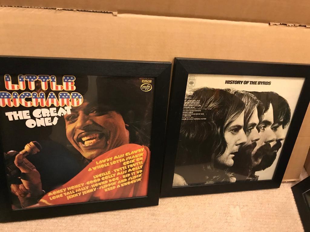 Framed Prints, Little Richard, The Byrds, The Rolling Stones, Elvis
