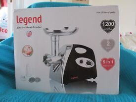 legened electric meat grinder new un opend