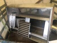 Commercial canopy extractor hood