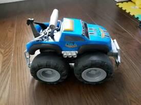 Max tow truck monster truck