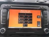 Vw skoda rns510 stereo navigation