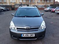 Toyota Corolla Verso T180 D4D. 2006 Grey Diesel. 2 former keepers MOT April 2017