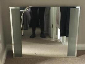 Bathroom mirror with light