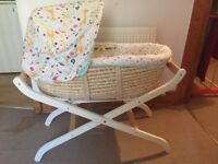 Mothercare Moses basket&stand (unisex)