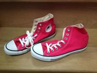 Converse Chuck Taylor All Star Core Hi-Top Trainers,Hot Pink