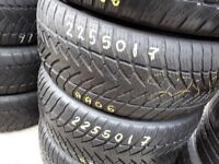 Part worn tyres / 225/50/17/ sets & pairs / branded tyres / collection from barking