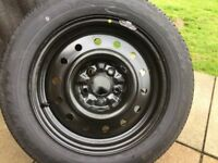 NISSAN NEW 16 INCH WHEEL AND TYRE