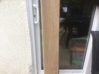 "Hardwood Window Board. '8 1/2"" x 8 1/2"""