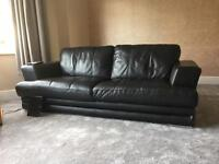 Leather Couch three seater
