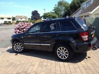 2007 Jeep Grand Cherokee Overland 3.0Crd: Fantastic tow car: Looking to swap for motorhome plus cash