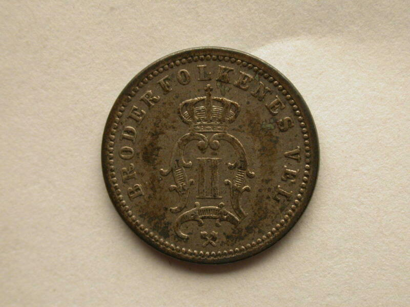 Norway 1890 10 Ore