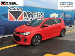 2017 Chevrolet Sonic SUNROOF, HEATED SEATS, TURBOCHARGED 4 CYL