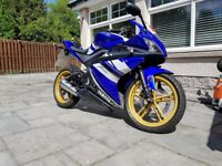 Yamaha YZF YZ F 125 R Limited Edition Motor Bike Blue