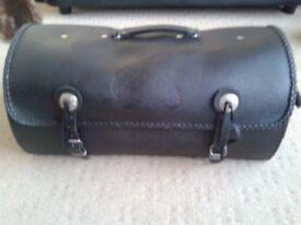 Leather Motorbike Luggage Bag