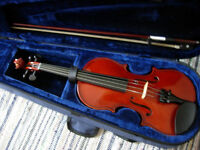 "small (12"") viola - Primavera, as new condition, plays beautifully, 1/2 price bargain (RRP £140+)"