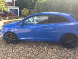 Seat Ibiza CR Sport TDi -£30 tax, Parrot Hands Free, Rare colour, cheap insurance, 60+MPG