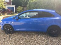 Seat Ibiza CR Sport TDi -£30 tax, Parrot Hands Free, Rare colour, cheap insurance, 60+MPG