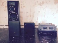DJ Sony Subwoofer / JBL speaker with Mixing and Equalising equipment