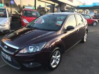 FORD FOCUS 1.6 ZETEC 5d 100 BHP (red) 2008