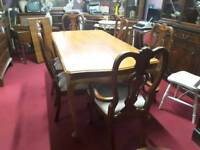 Gorgeous Dining Table and 6 Chairs- Can Deliver For £19
