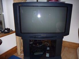 32ins panasonic crt tv.