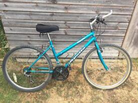 Ladies Apollo bicycle with padded seat