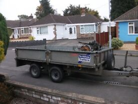 ifor williams 10' x 5' drop side trailer